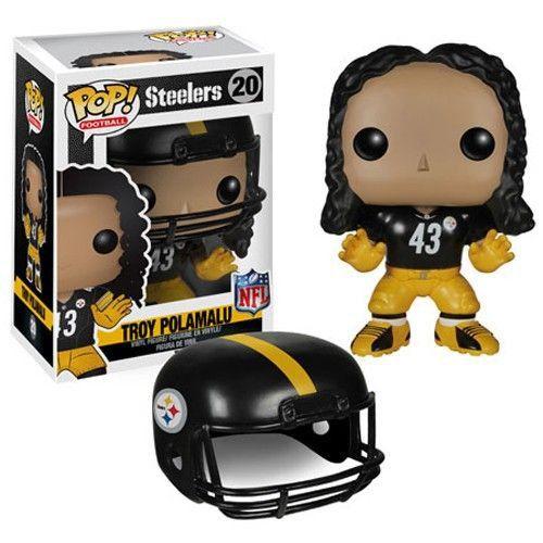 figura De Vinilo TJ vatio de fútbol #98 NFL Pittsburgh Steelers FUNKO POP