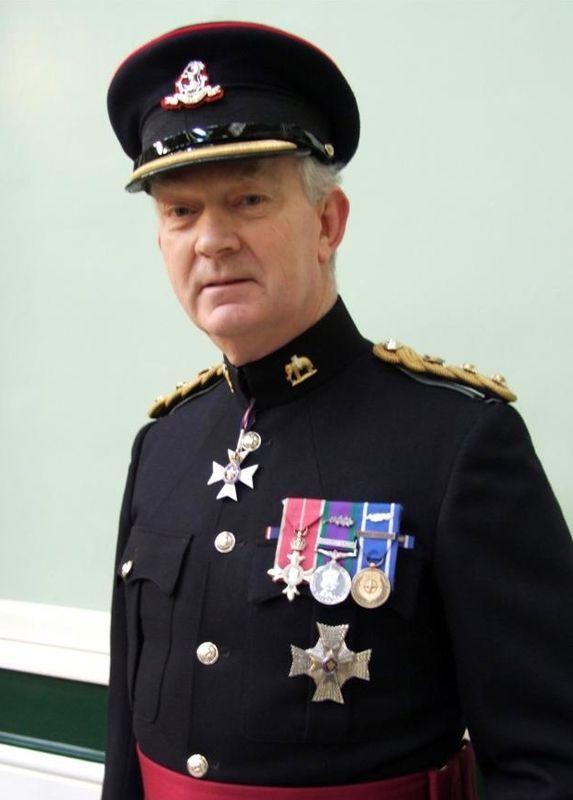 Major-General Sir Evelyn John Webb-Carter in the No 1 dress