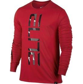 nike men s elite 2 long sleeve basketball shirt dick s sporting rh pinterest com Nike Elite Basketball Logo Basketball Shoe Logos