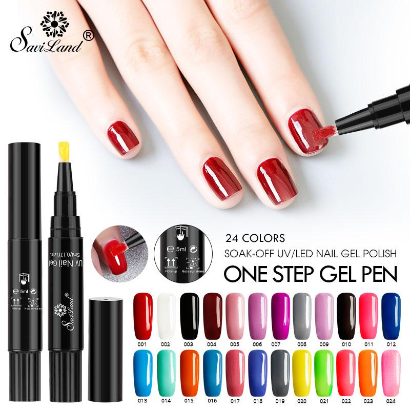 3 In 1 Gel Nail Polish Pen Unas Acrilicias De Gel Unas Arte