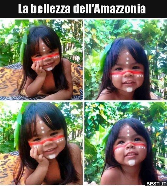 La bellezza dell'Amazzonia..   BESTI.it – immagini divertenti, foto, barzellette, video