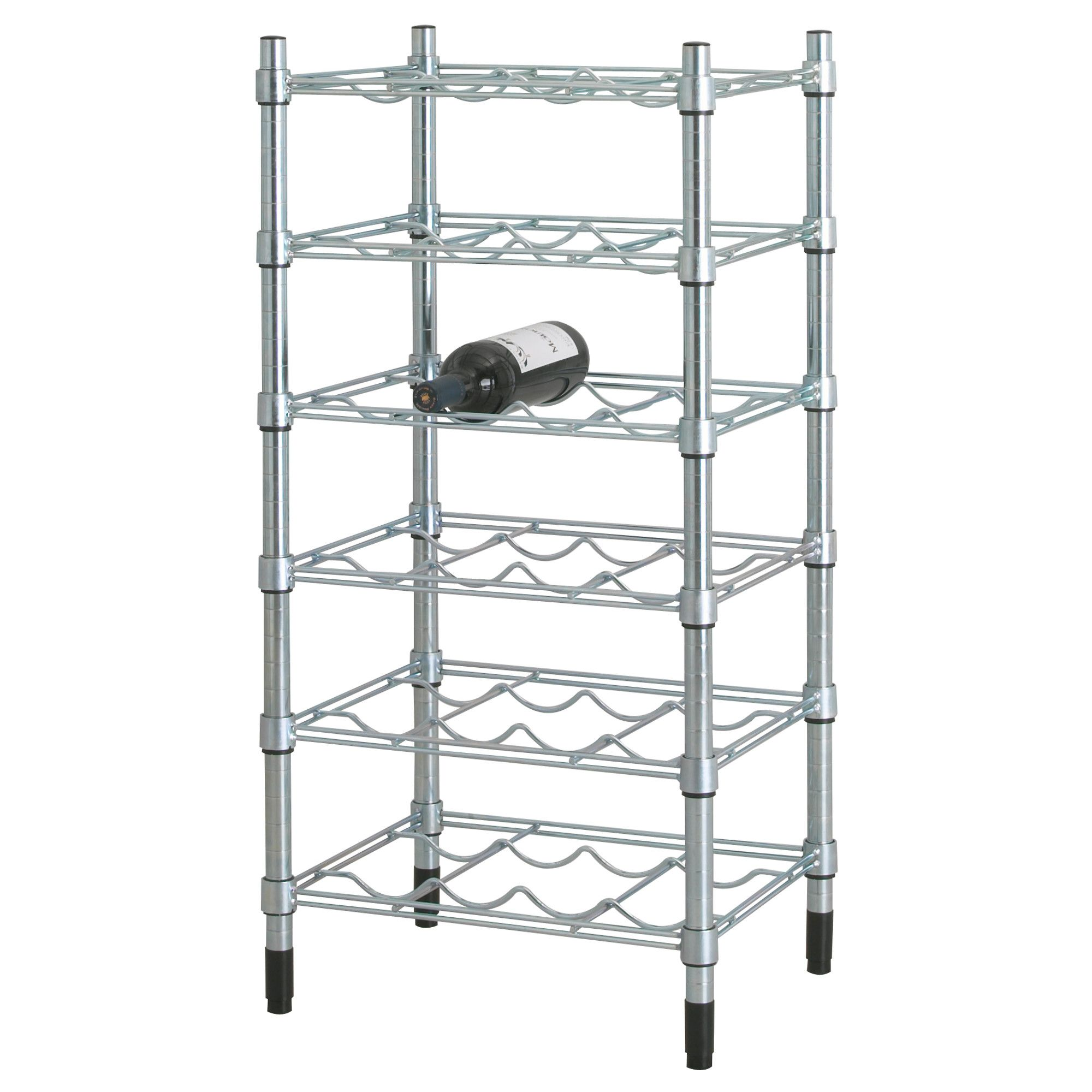 omar bottle shelving unit, galvanized | wine stuff | pinterest
