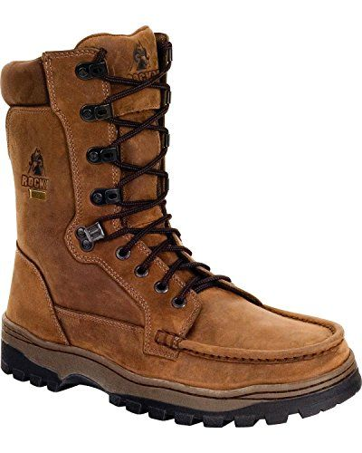 Rocky Men's Outback Gore Tex Waterproof Boot Brown 11 12 M