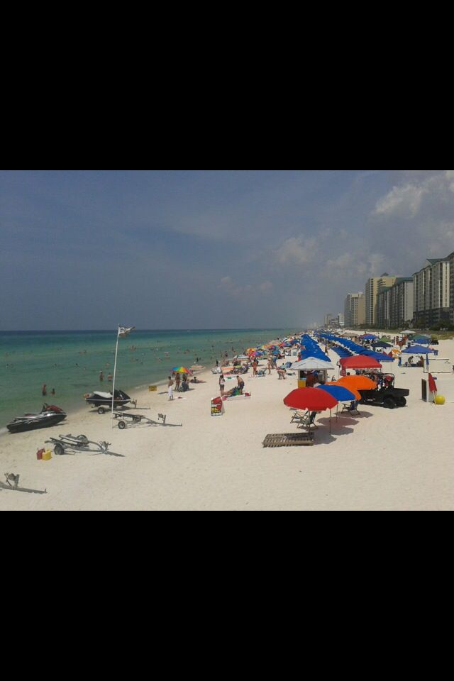 Panama City Beach. Off Thomas Drive.