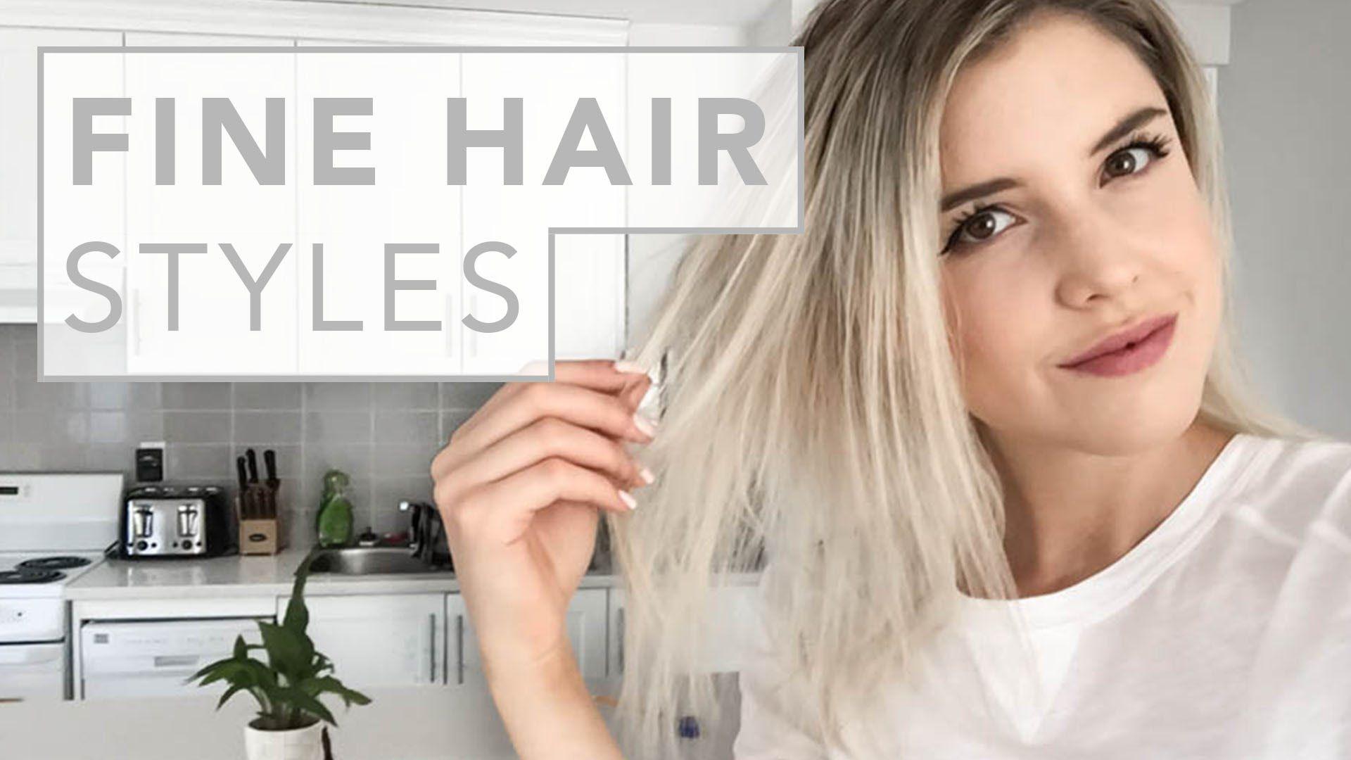 hair hacks   for fine and thin hair - youtube   hair & nails