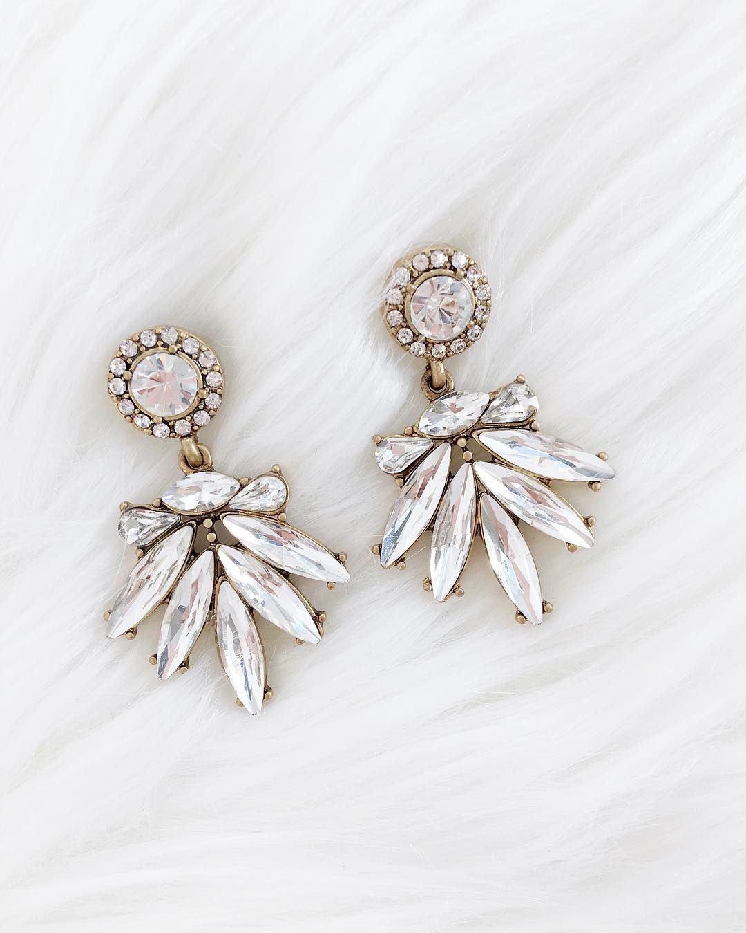 The Perfect Wedding Jewelry And Bridal Earrings Or Just