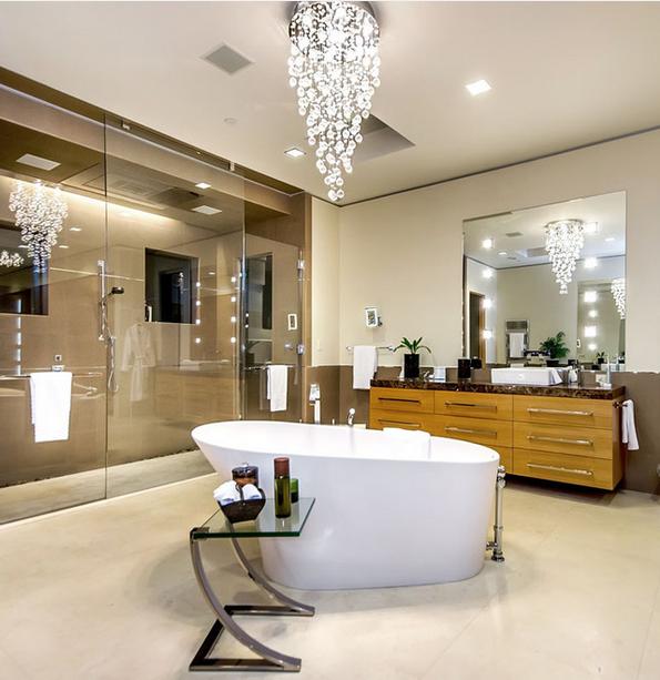 21 Ideen, Lampen Und Leuchter Im Badezimmer Zu Verzieren Neue Dekoration  U0026 Schlafzimmer Dekoration U0026