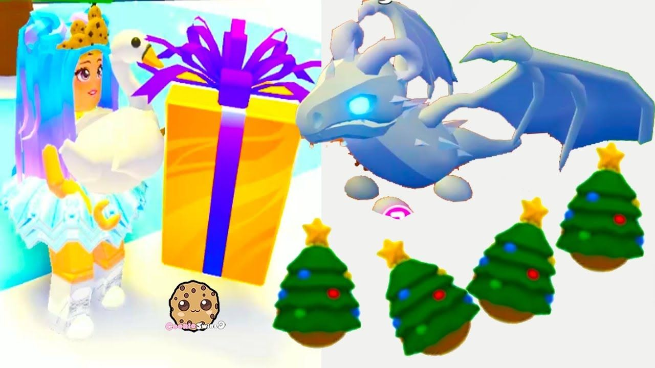 Buying Frost Dragon Surprise Pet Christmas Eggs Let S Play Roblox Adop Christmas Animals Custom Pet Furniture Roblox
