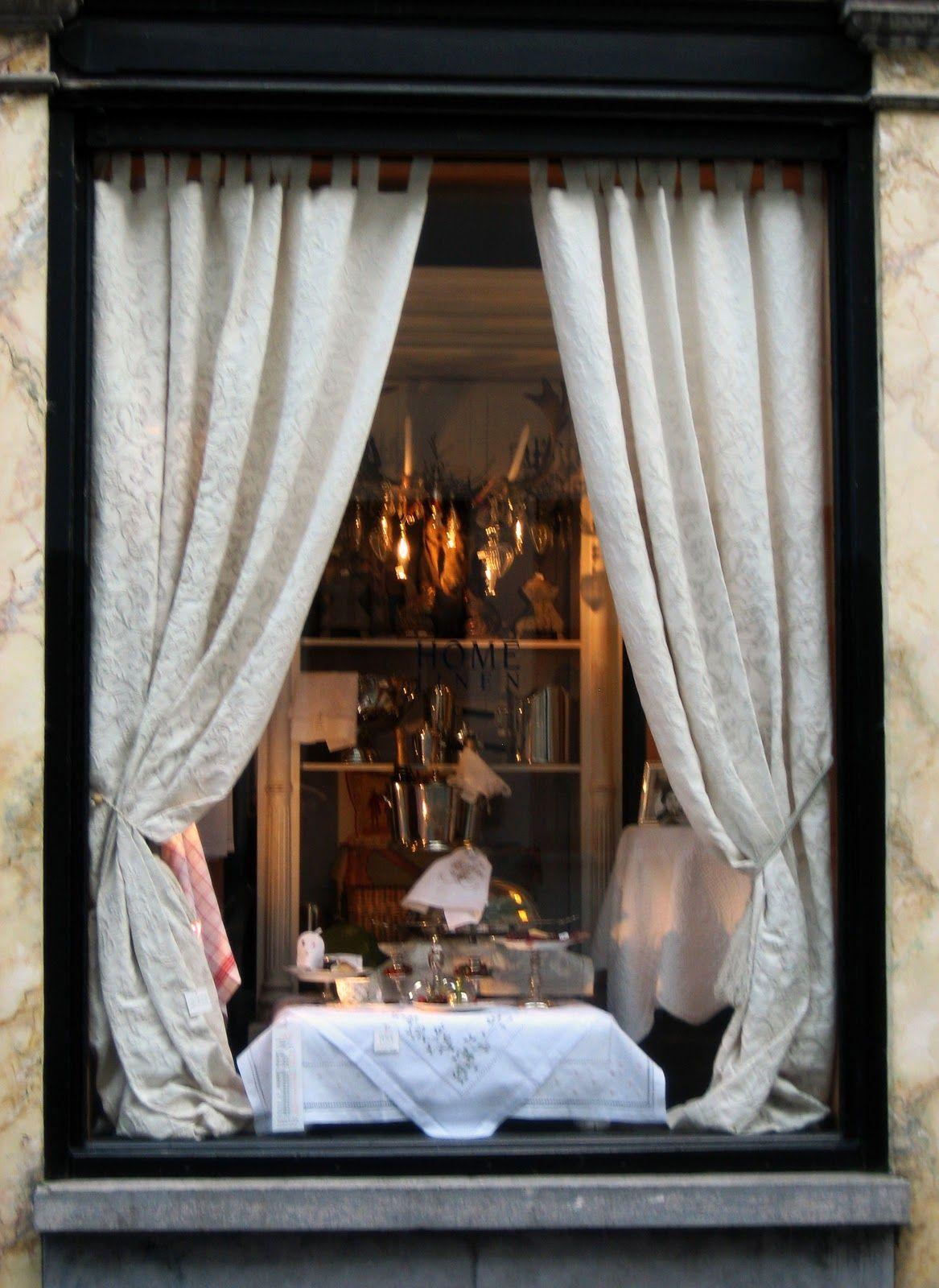Restaurant Window Curtain Store Shop Window Design Curtains