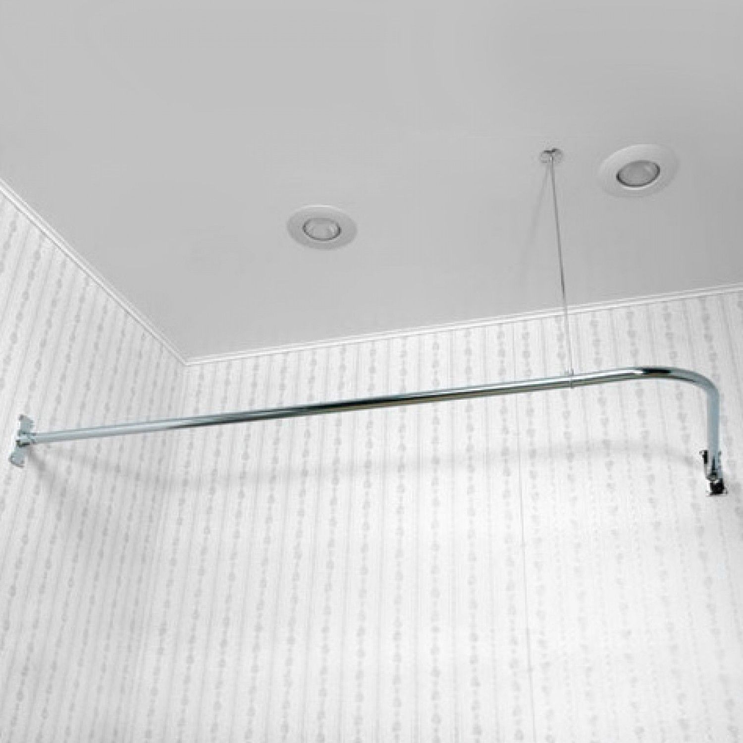 Corner Shower Curtain Rod Shower Curtain Rods Bathroom