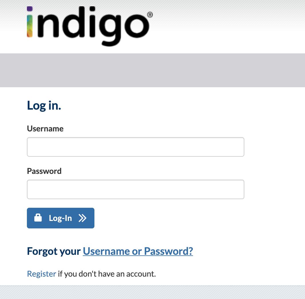 IndiGo Credit Card Login login