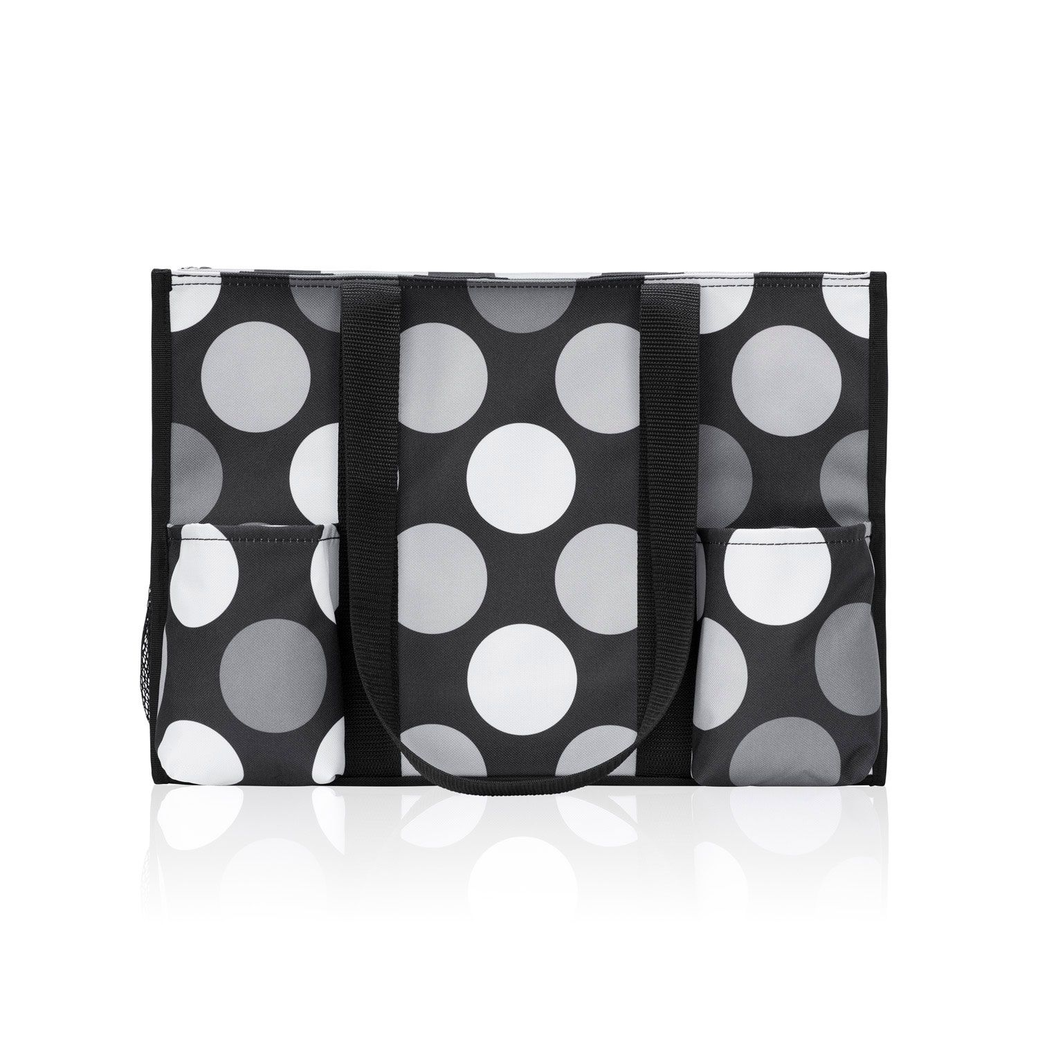 Zip Top Organizing Utility Tote Got Dots Thirty One Products