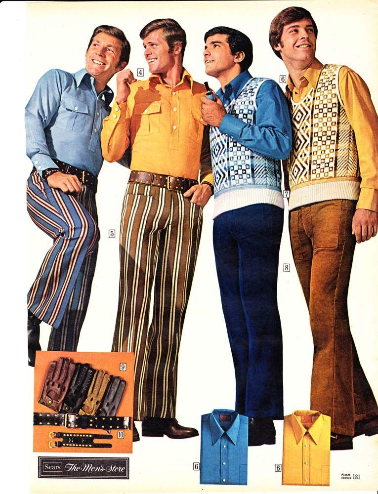 Mens Clothes 1970 Men S Fashion Pictures 1970 1974 They