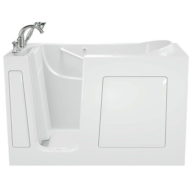 3060 Series 30 W X 60 L Gelcoat Walk In Air Spa Bathtub With Left
