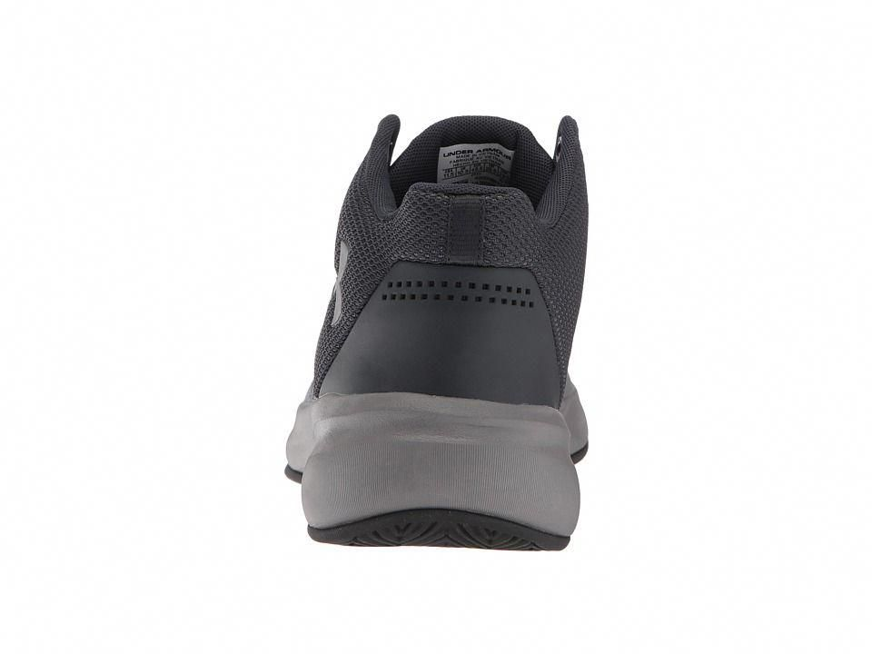 93a126ecb1b1 Under Armour UA Surge Men s Basketball Shoes Black Zinc Gray Zinc Gray   mensbasketball