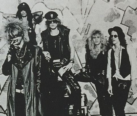 Looking forward to one of the biggest re-unions of all time! #GNR #Axl #Slash