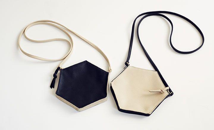 hexagon bags