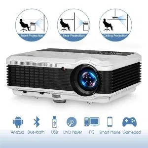 Top 10 Best Bluetooth Projector Of 2020 Review Product Rapid Projector Wireless Home Theater Bluetooth
