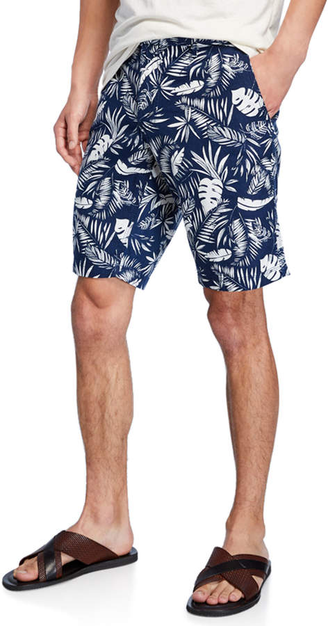 352e045abf Men's Austin Linen Floral-Print Shorts in 2019 | Products | Printed ...