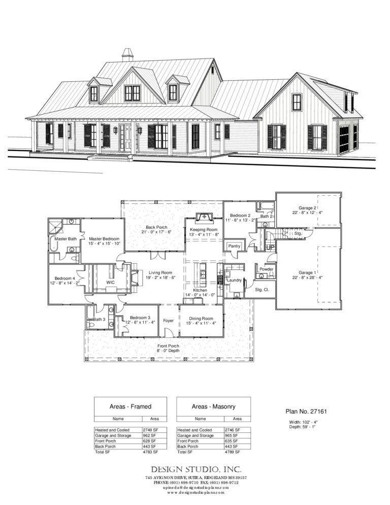 Plan 27161 Design Studio Building House Plans Designs House Plans Farmhouse New House Plans