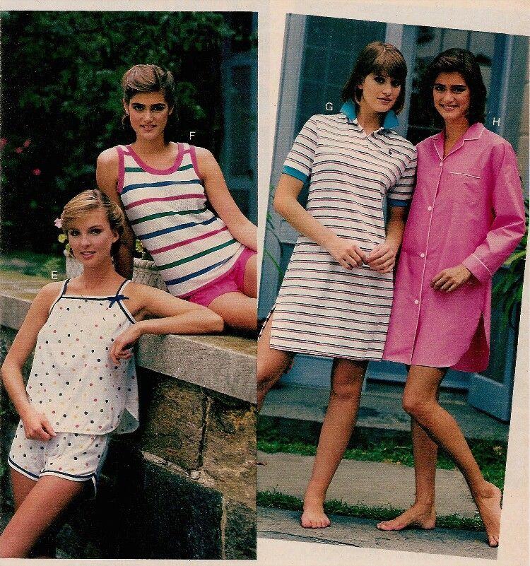 c9d069f7df Frilly Nightgowns to Garfield Pajamas  Women s Sleepwear Catalog Pages -  Flashbak