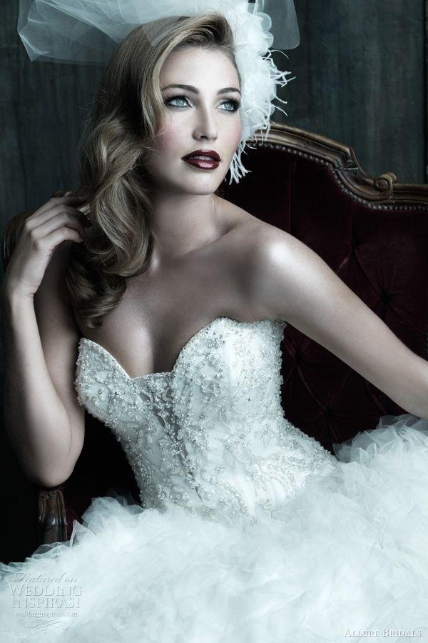 allure bridals couture wedding dresses c210