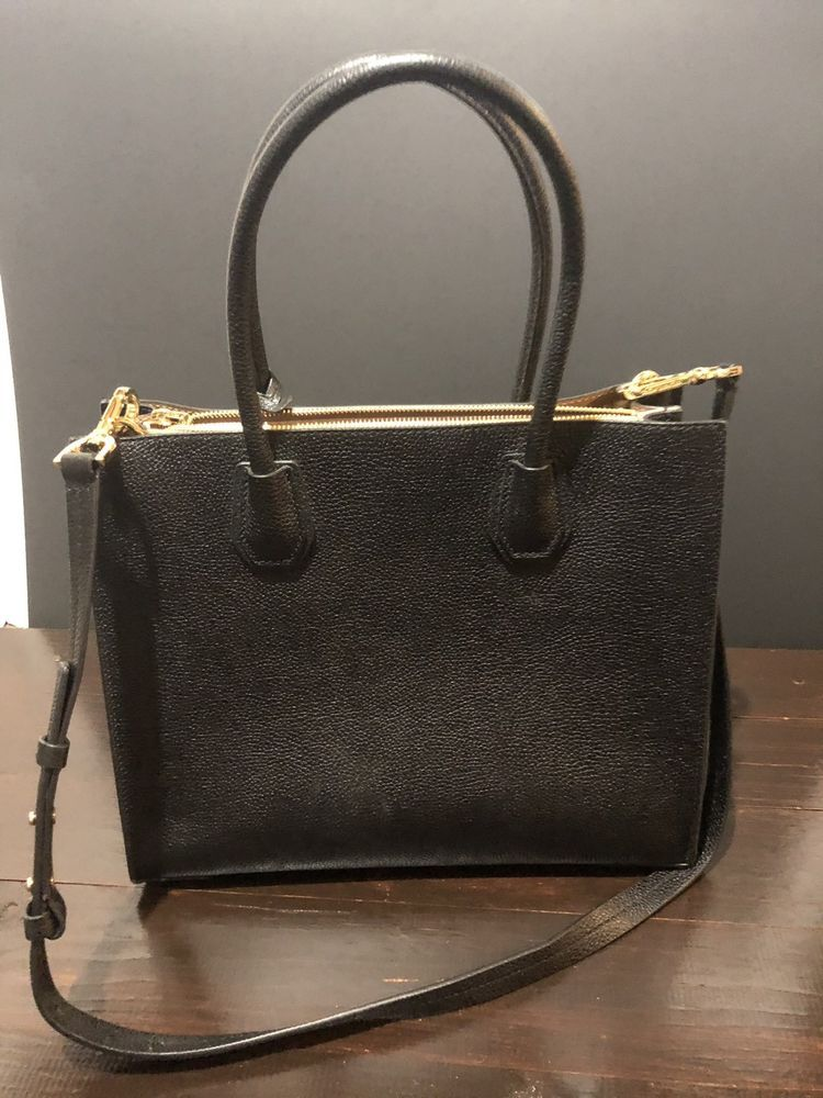 MICHAEL KORS ADELE BLACK SHOULDER CROSS BODY BAG  fashion  clothing  shoes   accessories e919c56ffa6ad