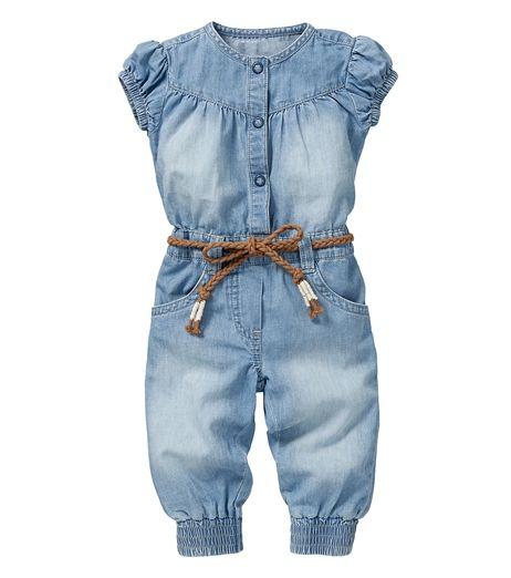 Beste Stoere spijker jumpsuit | Claudine - Meisjes, Baby meisjes en LN-01