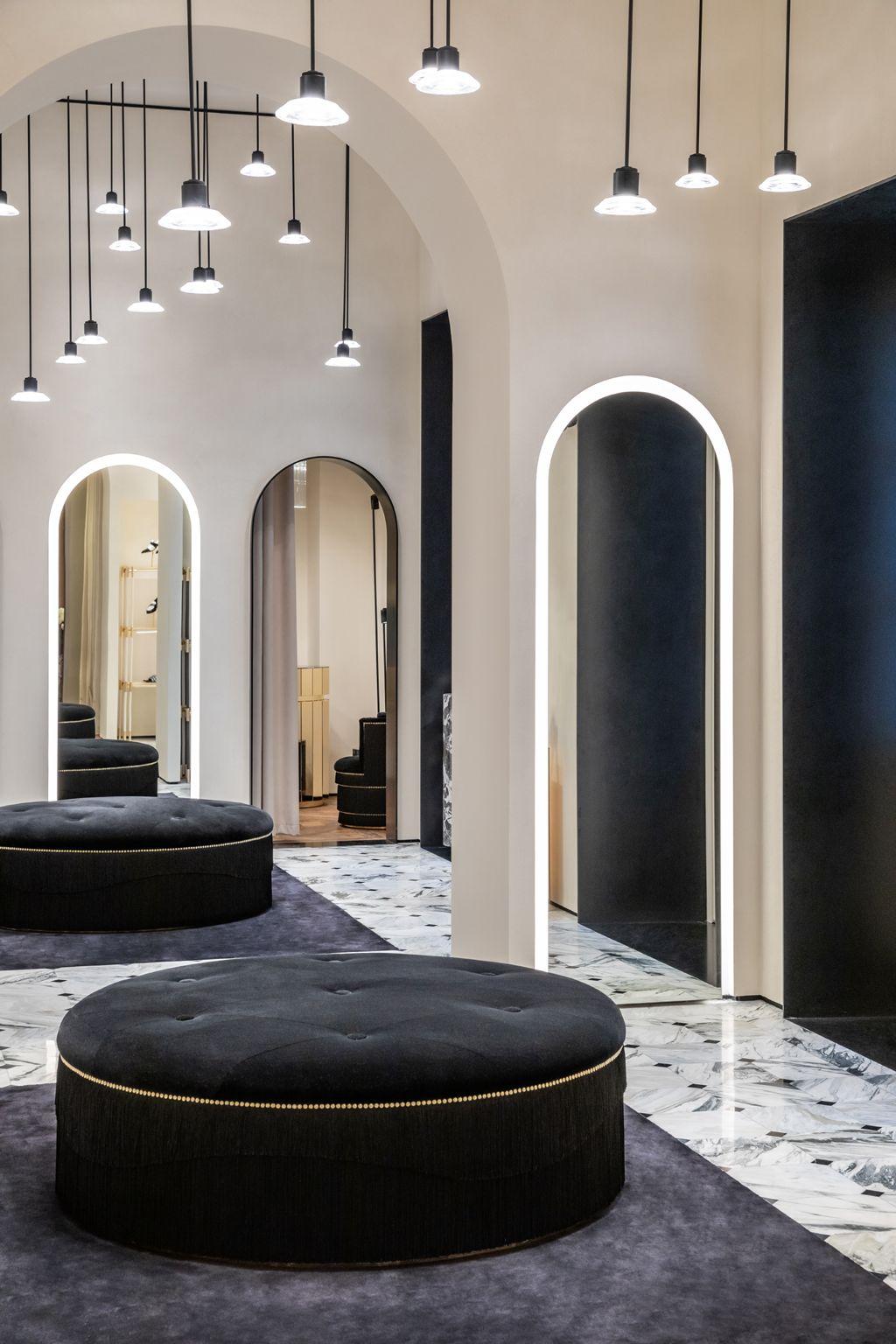 Balmain Paris In Love With Balmain Showroom Interior Design