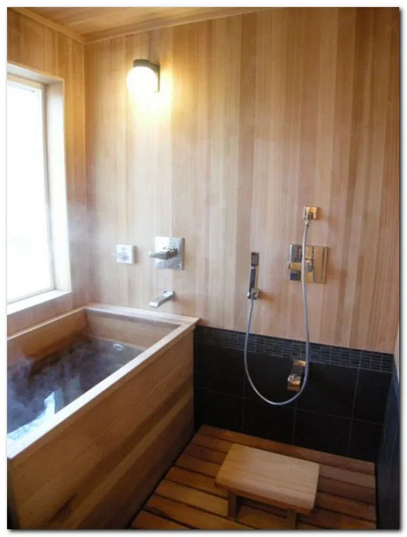 13 Gorgeous Japanese Bathroom Design With Bathtub Japanese