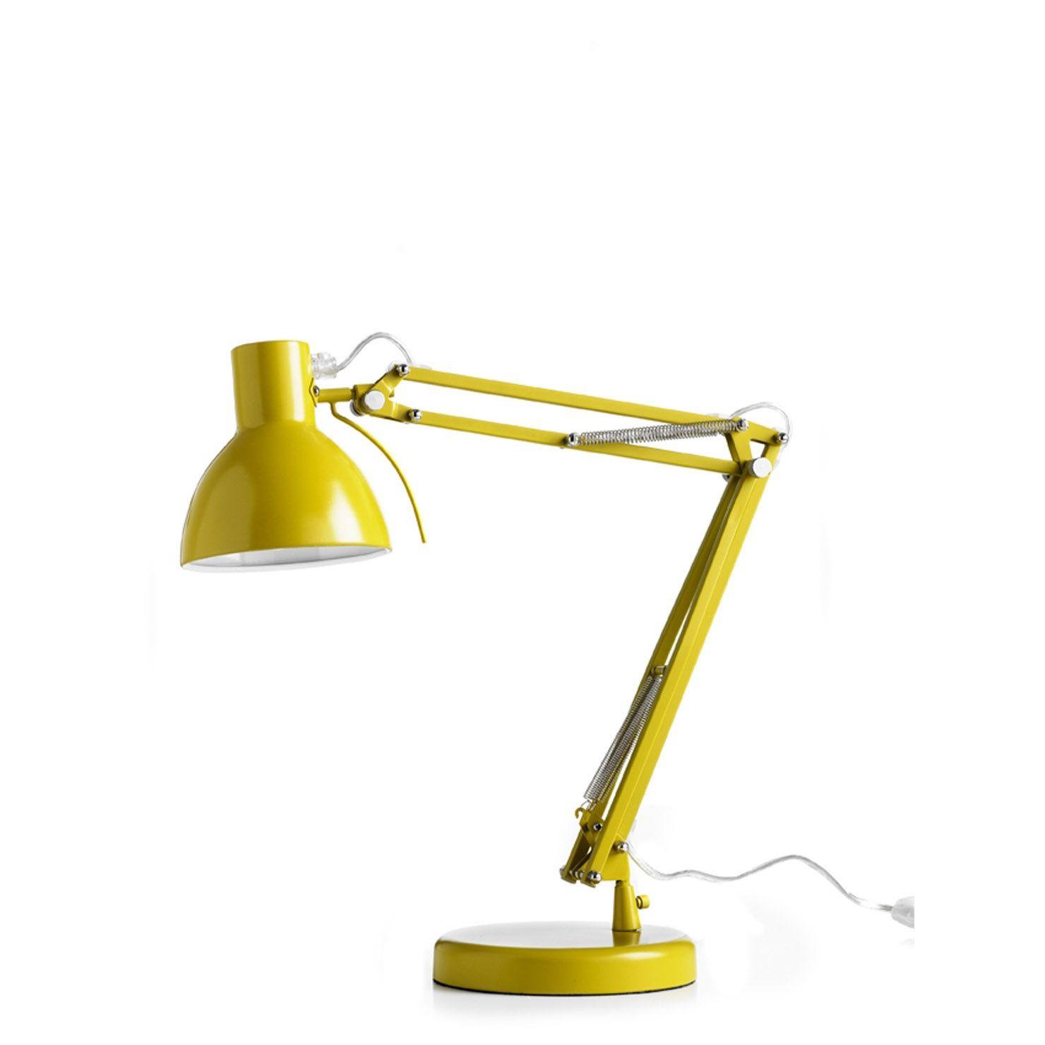 ACHICA   Frandsen Work Desk Lamp, Yellow