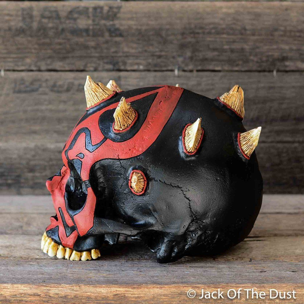 0219869bd1a Darth maul skull - limited edition - jack of the dust