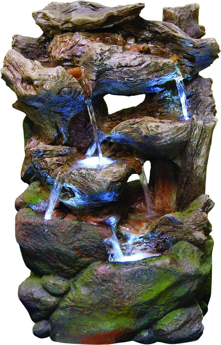 Alpine WIN732S Polyresin Rocky Fountain with