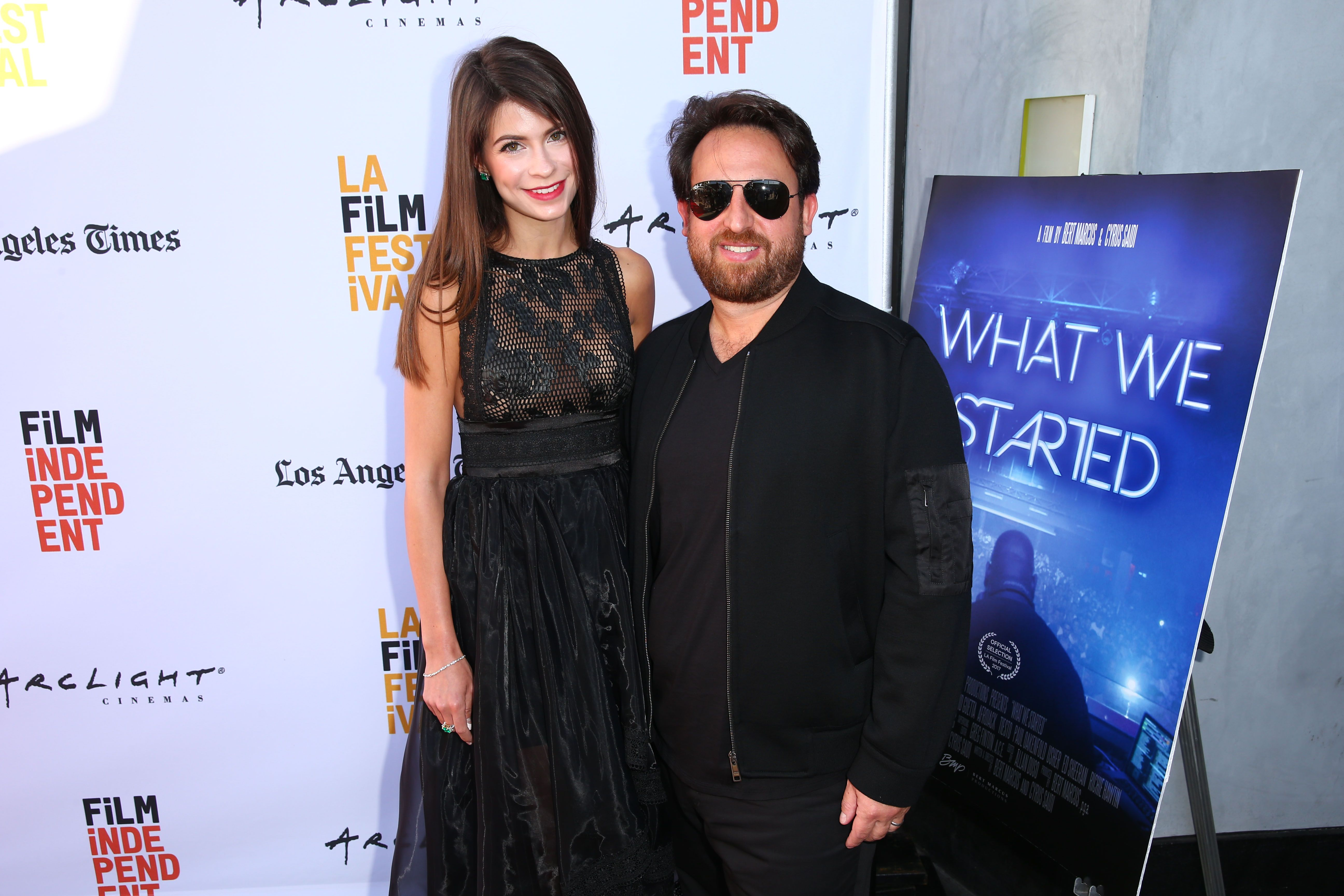 Russell Faibisch at the WHAT WE STARTED film premiere at the LA Festival c