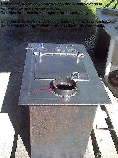 Pin de hecho x nosotros mismos en hornos de le a asadores barbacoas churrasqueras - Ver hornos de lena ...
