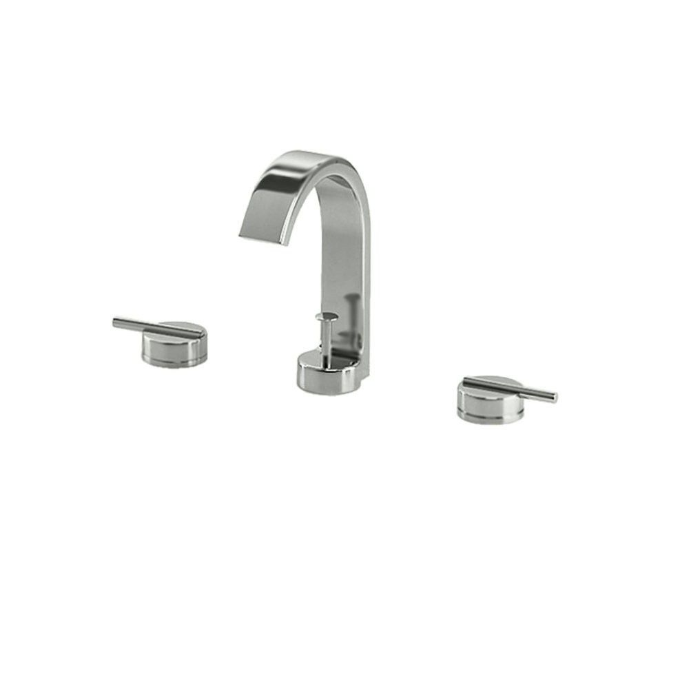 Jado 831 003 355 Glance Widespread Lavatory Faucet Ultrasteel From Bathroom Fixtures