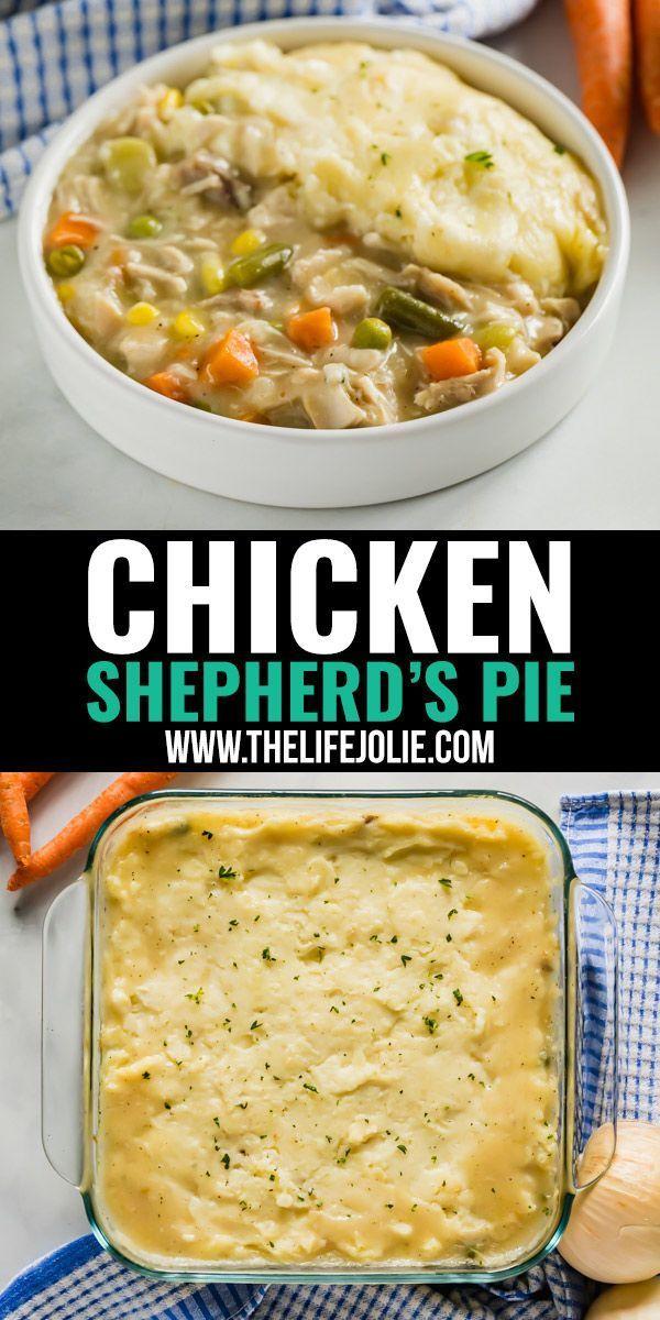 Leftover Chicken Shepherd's Pie Recipe