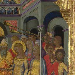 Niccolo di Buonaccorso - Sposalizio della Vergine, dettaglio - 1380 - National Gallery of Art, London