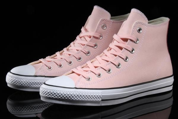 94857aaddaaf Overview Converse CTAS Pro Hi Style     155514C-690 Color   Vapor Pink   Pink  Glow   Natural Material   Canvas   Suede - Rubber Outsole Sizing   US Men s  ...