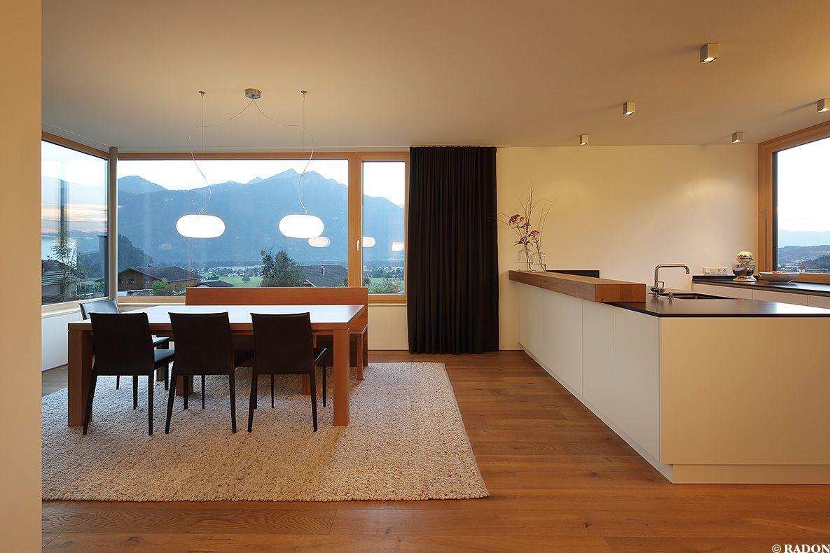 Offener Wohn Essbereich einfamilienhaus querformat zt gmbh norman radon radon photography