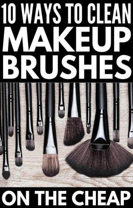 Photo of 44 Trendy diy makeup brush cleaner vinegar baby shampoo