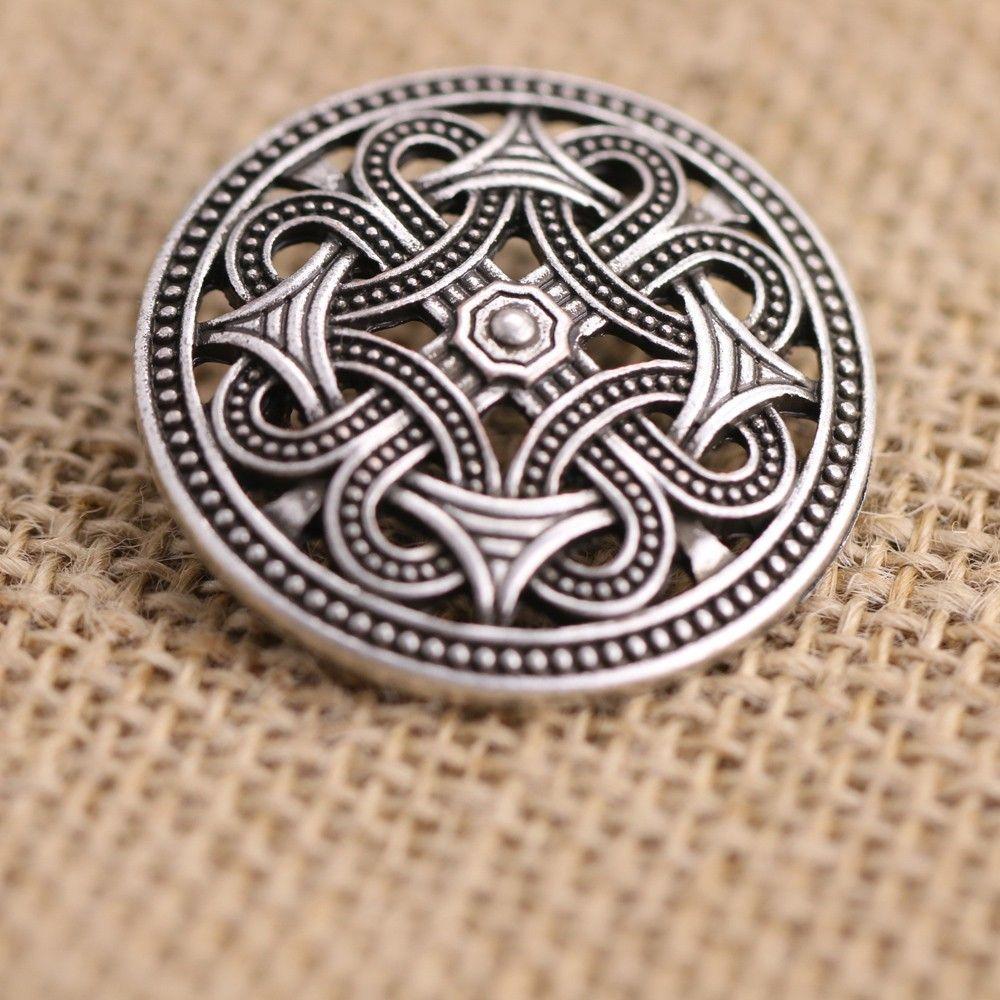 1pcs Nordic Vikings Amulet Sweden fibula Set Brooches Viking brosch jewelry Talisman