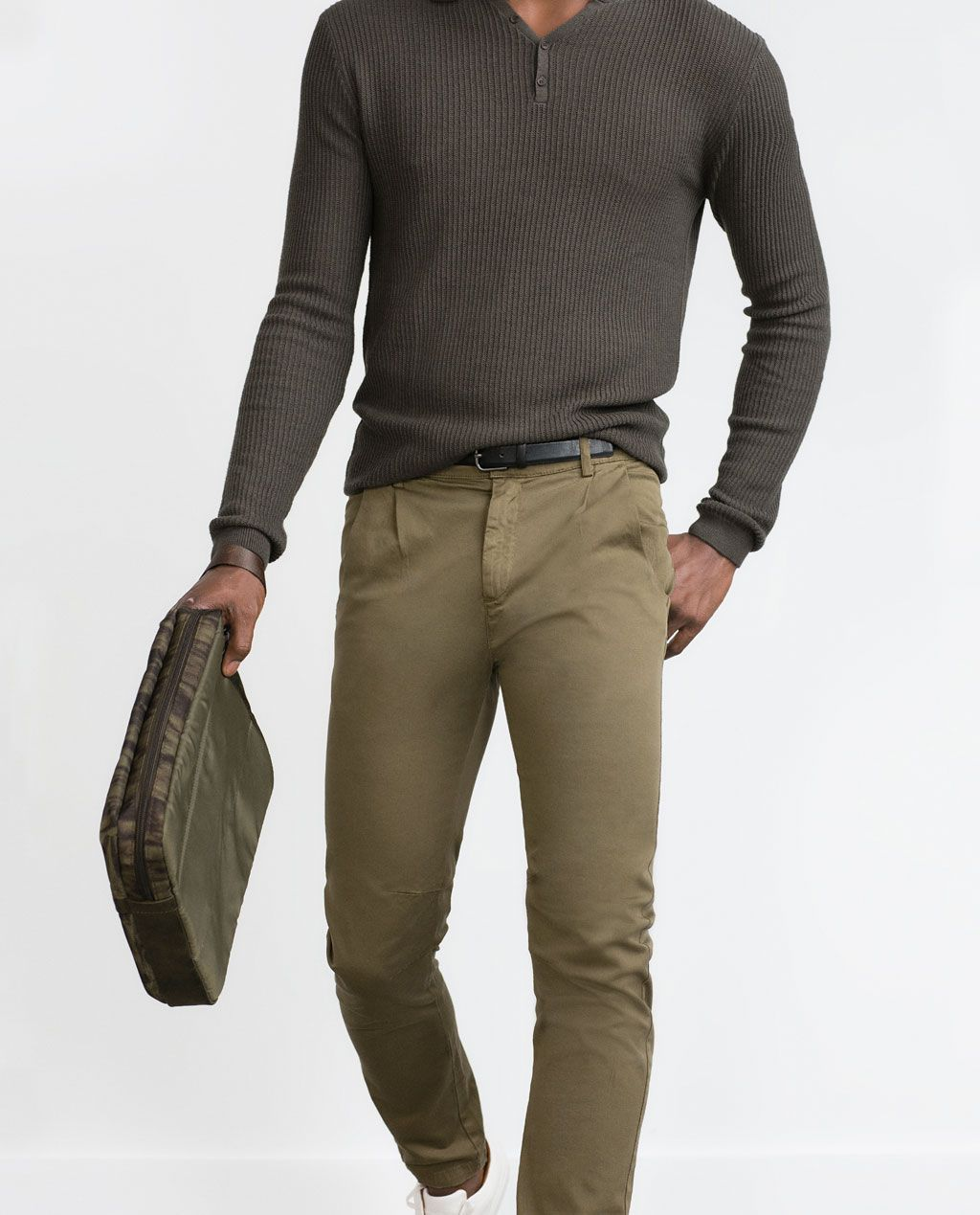 Pantanones De Vestir Hombre Zara