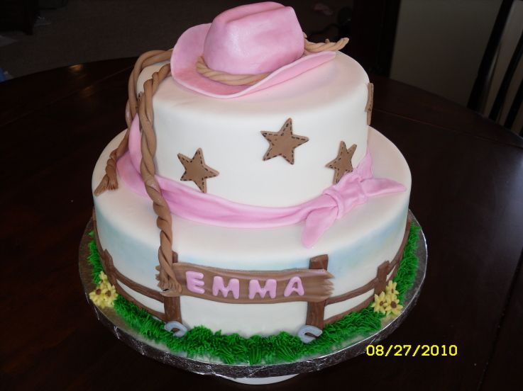 Cowgirl Cake Birthday Decorating Community Cakes We Bake