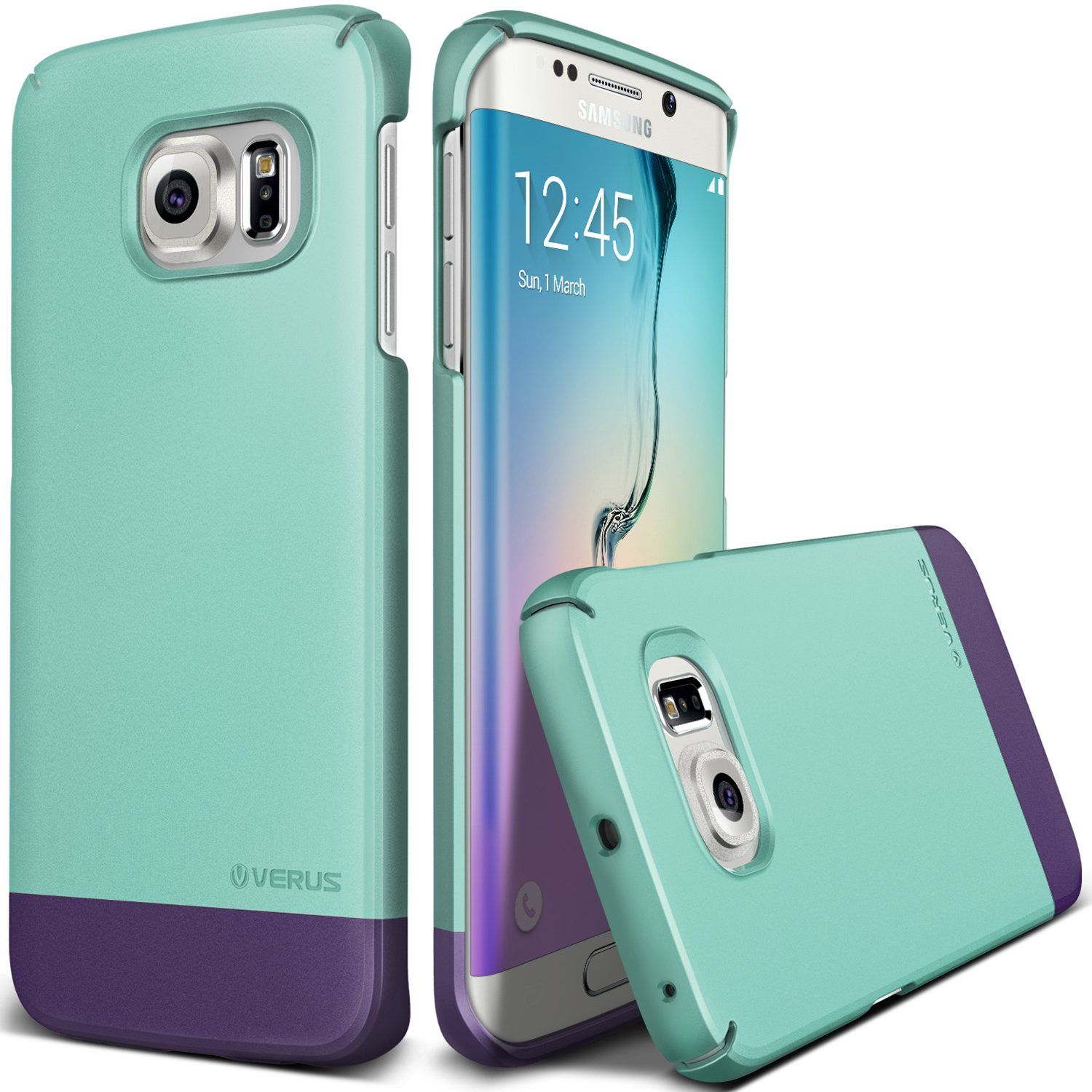 finest selection 31edc 9c3d1 Amazon.com: Galaxy S6 Edge Case, Verus [Two Tone Slide] Samsung ...