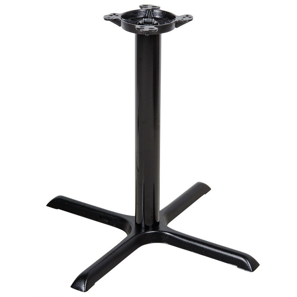 Lancaster Table Seating 30 X 30 Black 3 Standard Height Column Table Base Metal Table Base Metal Table Lancaster Table