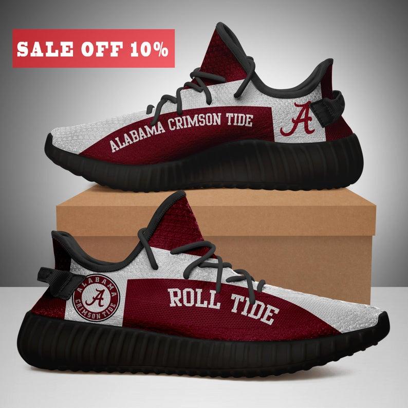 Alabama Crimson Tide Yeezy Boost 350