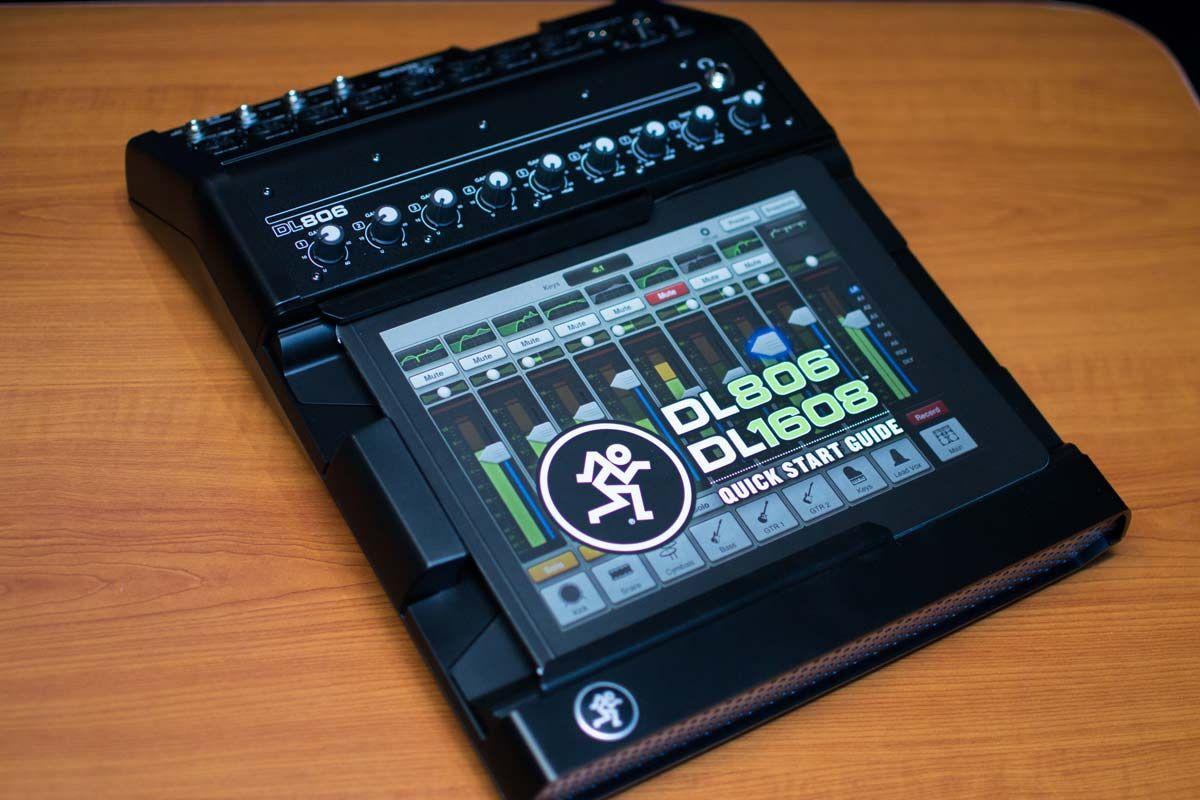 Mackie DL806 8-Channel Digital Live Sound Mixer with iPad Control Lightning  http://bananas.com/mackie-dl806-8-channel-digital-live-sound-mixer-with-ipad-control-lightning/dp/15456