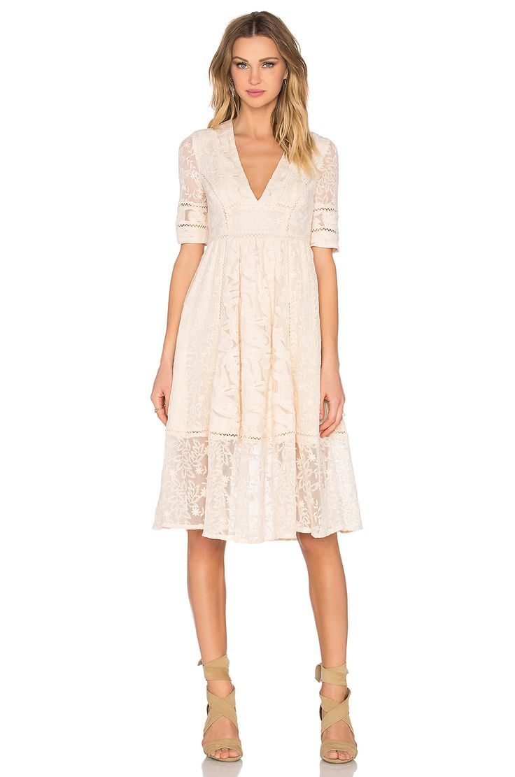 Free people laurel lace dress in almond wedding dresses lace