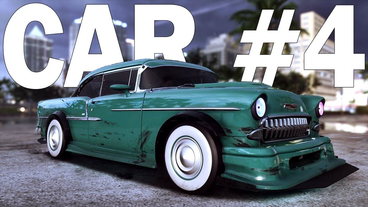 Chevrolet Bel Air 55 Need For Speed Heat Customization